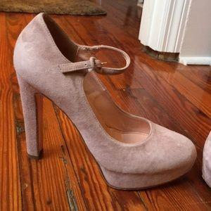 Moving sale- Italian blush Mary Jane heels